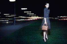 Christian Dior Lady Dior Handbag Fall Winter 2014 Ad Campaign | Art8amby's Blog