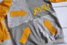 #Tetrands #filius nach dem Schnitt von #ElfriedeundFridolin genäht von #Stubbeldidu  #nähenfürkinderisttoll #nähen #hoodie #sweater #cool #boy #style #outfit