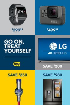 Kick your tech into overdrive without busting the bank. This week's deals have arrived, packed with the latest innovations, the newest releases and the sweetest savings. Go ahead—your next big find awaits. Savings good through 10/14/17.