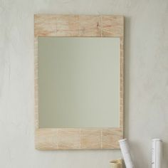 west elm Etched Chevron Wall Mirror on shopstyle.com