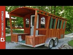 Aluminum Tiny Gypsy House Can Be Pulled By Small SUV - YouTube
