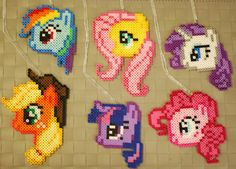 My Little Pony Necklaces/Magnets! This listing is for 1 necklace or 1 Magnet in the color combinations shown or a custom order! If you want a