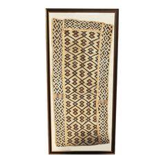 Framed Vintage African Textile: Scout Designs NYC