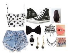 random me by lenathemusicfreak-mindless on Polyvore featuring polyvore, fashion, style, Converse, Chanel, ASOS, Lacoste, Forever 21 and Charlotte Tilbury