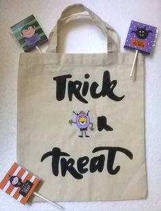 Borsino Halloween Mostro Trick or Treat dolcetto o scherzetto