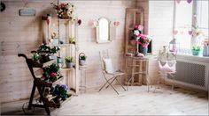Фотостудия Прованс, весенние декорации в зале Вайт