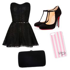 """Weeding"" by andraconstantinescu on Polyvore featuring Victoria's Secret, Christian Louboutin and Sergio Rossi"