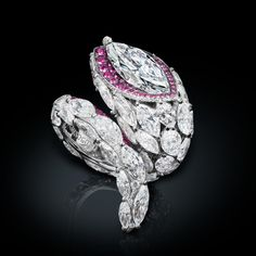 de GRISOGONO Love on the Rocks diamond ring