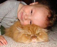 Booney loves cuddles.