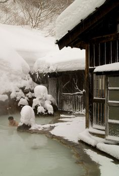 Snow Spa, Japan. Some Christmas.
