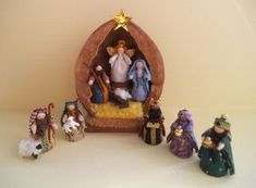 Nativity in Walnut Shell