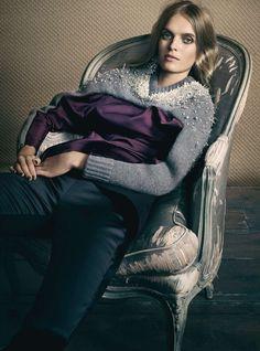 Mirte Maas Is 'Magic in Moonlight' By David Slijper For Harper's Bazaar December2014 - 3 Sensual Fashion Editorials | Art Exhibits - Anne of Carversville Women's News