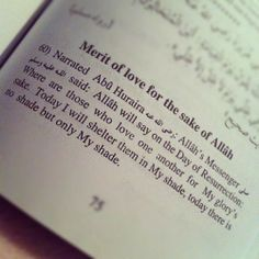 Love for the sake of Allah