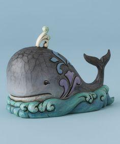Look what I found on #zulily! Whale Figurine #zulilyfinds