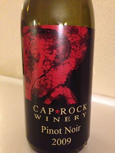 CapRock Winery Pinot Noir 2009 - Wine on the Dime