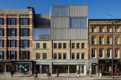 Duggan Morris Architects curtain road . london #architecture