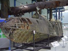Remains of a Blohm & Voss Bv 138 Sea Dragon (Seedrache).: