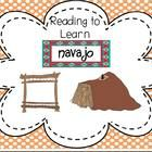 "This booklet includes a nonfiction passage about the Navajo, common core activities and think marks poster for nonfiction text.  This ""Reading to L..."