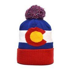 2a28159536b Original Colorado State Flag Beanie