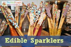 Edible Sparklers