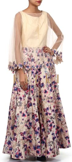 Buy Online from the link below. We ship worldwide (Free Shipping over US$100). Product SKU - 304774. Product Link - http://www.kalkifashion.com/multi-color-suit-adorn-in-digital-print-only-on-kalki-18309.html