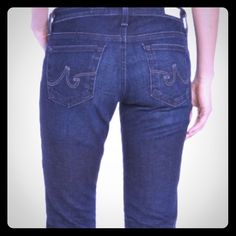 """HPAG The Stilt Skinny Jeans Worn once.  Perfect condition.  Five pocket styling, skinny leg, has a little stretch.  Approx measurements laying flat: waist 15"""", hips 17"""", inseam 29.5"""", leg opening 5.5"""". AG Adriano Goldschmied Jeans Skinny"""