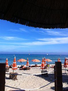 Le chiringo at St.Tropez Beach. Sept '13 Ph. Eli Sampalione