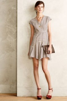 Checked Pasture Dress | anthropologie