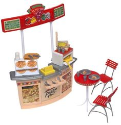 Barbie Pizza Hut Restaurant Playset * Visit the image link more details.