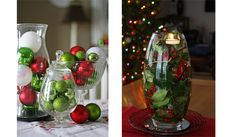 Decorating Glass Jars with Burlap CHRISTMAS | ... copyright to ©Adorable Home – interior design and decorating ideas