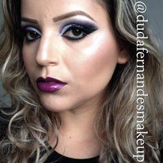 Makeup Violet