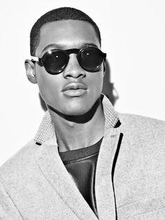06443599a13b Black Eyewear DOC Black sunglasses. Photographer  Markus Lambertz Stylist   Marcell Naubert Makeup