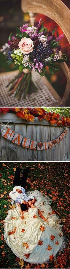 El otoño nos ofrece infinidad de paletas de color ideales para las bodas. Hoy en el blog unas ideas originales para decorar bodas en otoño!