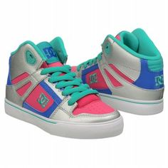 DC Shoes  Kids' Spartan Hi at Famous Footwear   I want these so bad...