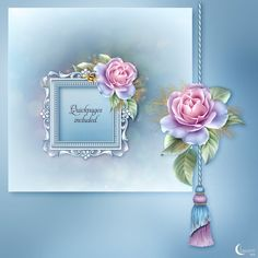 Moonbeam's 'Frosted Dreams' - a package designed in icy cold hues celebrating the cool winds of the winter months! Celebrate with soft pink roses and snow and enjoy the vibrance of a quietly burning candle and sparkles all around. This package is designed with ornate Victorian frames and tags, embellished here and there with a humming bee and a whispering pale butterfly. The product comes with a selection of pre-made backgrounds and quickpages, matching papers, tags, individual standalone…