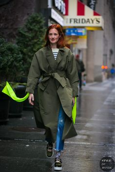 New York Fashion Week Fall 2017 Street Style: Taylor Tomasi Hill