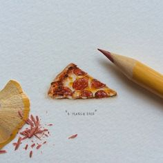 """""""Potluck 100″ – A New Miniature Painting Project by Cape Town-based Artist Lorraine Loots"""