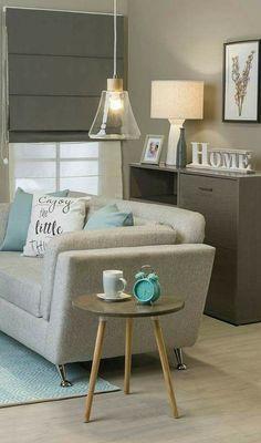 Ideas Living Room Ikea Decor Salons For 2019 Small Room Interior, New Interior Design, Home Interior, Small Rooms, Color Interior, Home Living Room, Living Room Decor, Family Room Colors, Ikea Decor