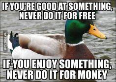 Some good piece of advice!