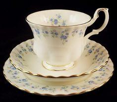 Royal Albert 'Memory Lane' Teacup, Sauce, and Tea Plate http://berryvogue.com/dinnerware