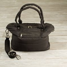 Womens's Black Black Featherweight Studio Duffle #gymbags