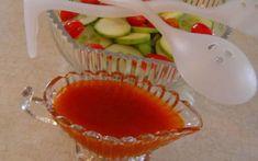 Make and share this Clone Kraft's Catalina Salad Dressing recipe from Genius Kitchen. Catalina Dressing Recipes, Catalina Salad Dressing, Salad Dressing Recipes, Salad Recipes, Salad Dressings, Clone Recipe, Salad Sauce, Marinade Sauce, Copycat Recipes