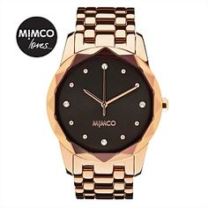 Dear Santa, this for Xmas pls? Black Face Watch, Jewelry Accessories, Fashion Accessories, Unique Bags, Diamond Are A Girls Best Friend, Metal Bands, Gold Watch, Rose Gold, Jewels