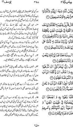 Irfan ul Quran  Part #: 12 (Wama min dabbatin)  Page 357