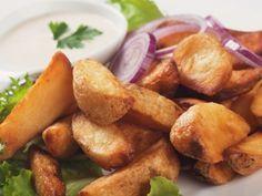 Nigella Lawson Tuscan Fries Recipe & The Chew Slow-Roasted Salmon Potato Recipes, Vegetable Recipes, Snack Recipes, Cooking Recipes, Cooking With Beer, Egyptian Food, Good Food, Yummy Food, Slow Roast