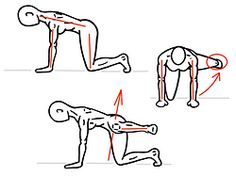 """Fitness Inspiration : Illustration Description Tabletop Hip Abduction: Looks Simple, but Hard to do. Add this execs to develop Hip Stability and help protect your knees while running. """"Nothing will work unless you do"""" ! -Read More – Squat Lift, Glute Medius, Hip Flexor Exercises, Hip Mobility, Tabletop, Bone And Joint, Fitness Magazine, Injury Prevention, Physical Therapy"""