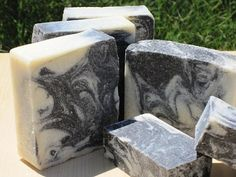 All Natural Handmade Sea Salt Soap with Activated by lathertech, $4.50