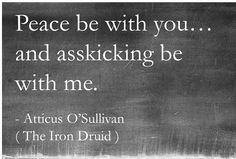 "Because the best insults start out polite, then sneak up on you :)  This funny book quote is courtesty of Kevin Hearne, author of the Iron Druid Chronicles and epic sass master / mythology nerd.  He is also responsible for: Atticus O'Sullivan (who quotes lolcats to vampires, for the lulz), Oberon the Irish Wolfhound, Lord of Bacon, Earl of Sausage, the Genghis Khan of Dogs (also, briefly Liberace), and Perun the Slavic God of Thunder, who once called Thor a ""monstrous fuckpuddle"".  Enjoy :)"