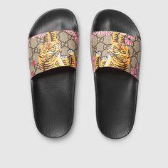 7a4e3e5332c Gucci Bengal slide sandal Gucci Slides Women