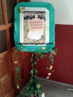 TiquisArte: Primera comunión Frame, Home Decor, First Holy Communion, Picture Frame, Decoration Home, Room Decor, Frames, Home Interior Design, Home Decoration
